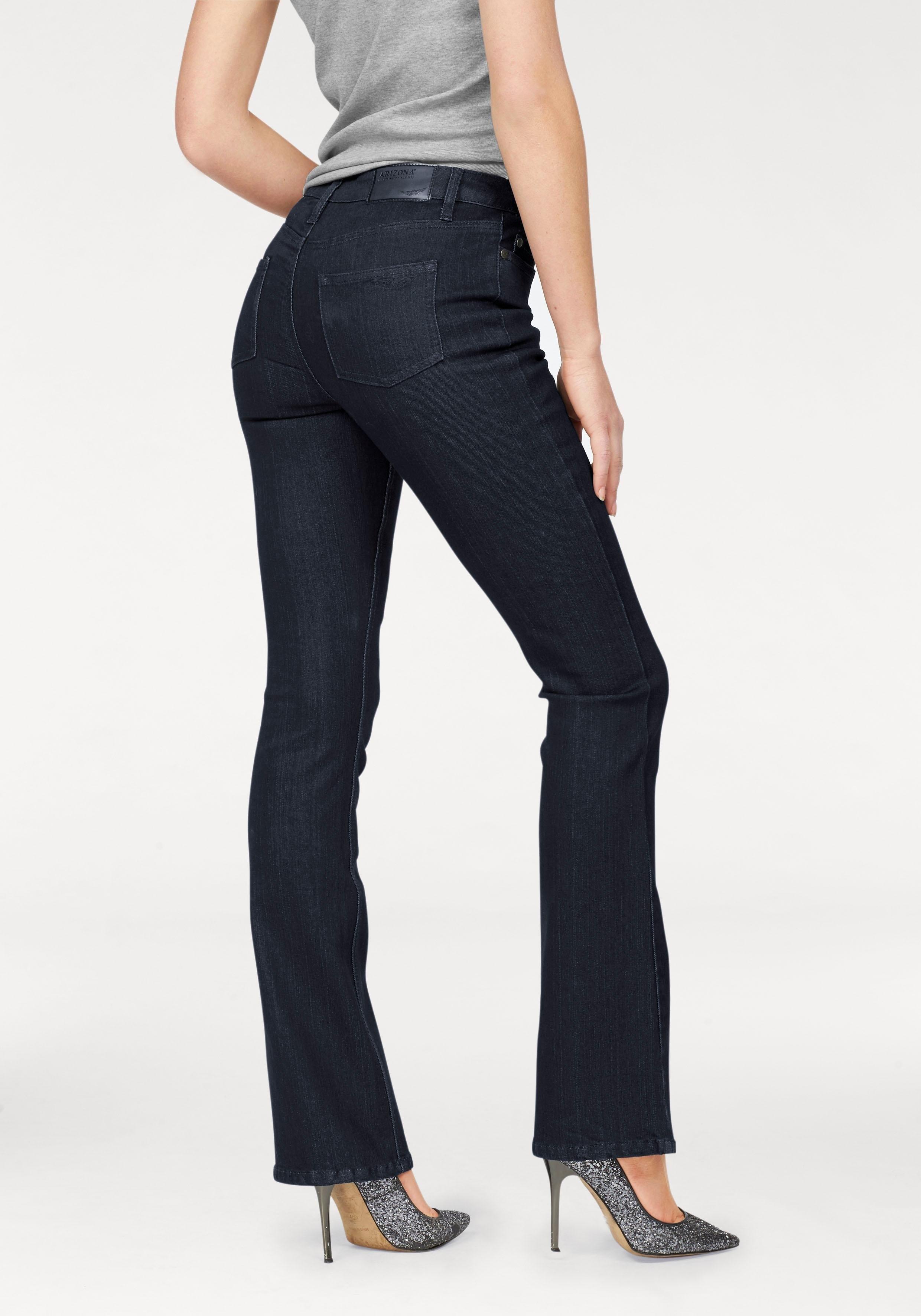 Arizona bootcut jeans Baby Bootcut High Waist nu online kopen bij OTTO