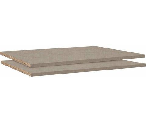 Legplank BETA 66 cm natuurlijke linnen (lot van 2)