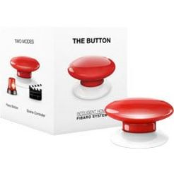 fibaro button the button - z-wave rood