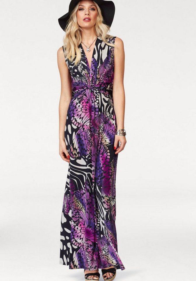 Melrose maxi-jurk paars