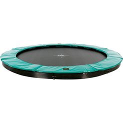exit trampoline »supreme ground level«, ø: 427 cm, rond, groen groen