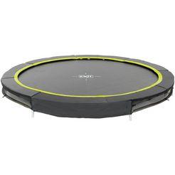 exit trampoline »silhouette ground«, ø: 244 cm zwart