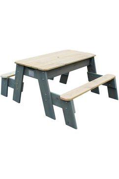 exit speelgoed »speeltafel aksent picknick«, bxl: 94x121 cm, 2 banken 2014