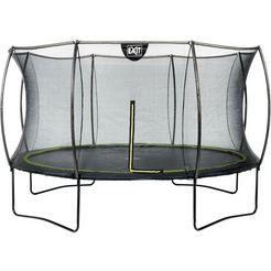exit set: trampoline »silhouette«, ø: 427 cm zwart
