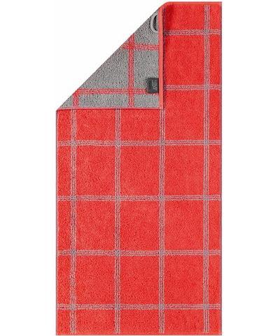 Cawö Handdoeken, Cawö, Two-Tone Grafik, met grote ruiten