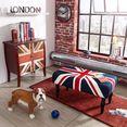 home affaire bank »london« multicolor