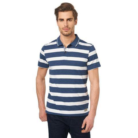 TOM TAILOR Poloshirt »Gestreept poloshirt«
