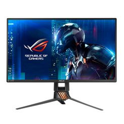 asus full hd-monitor, 62,23 cm (24,5 inch) »pg258q« grijs