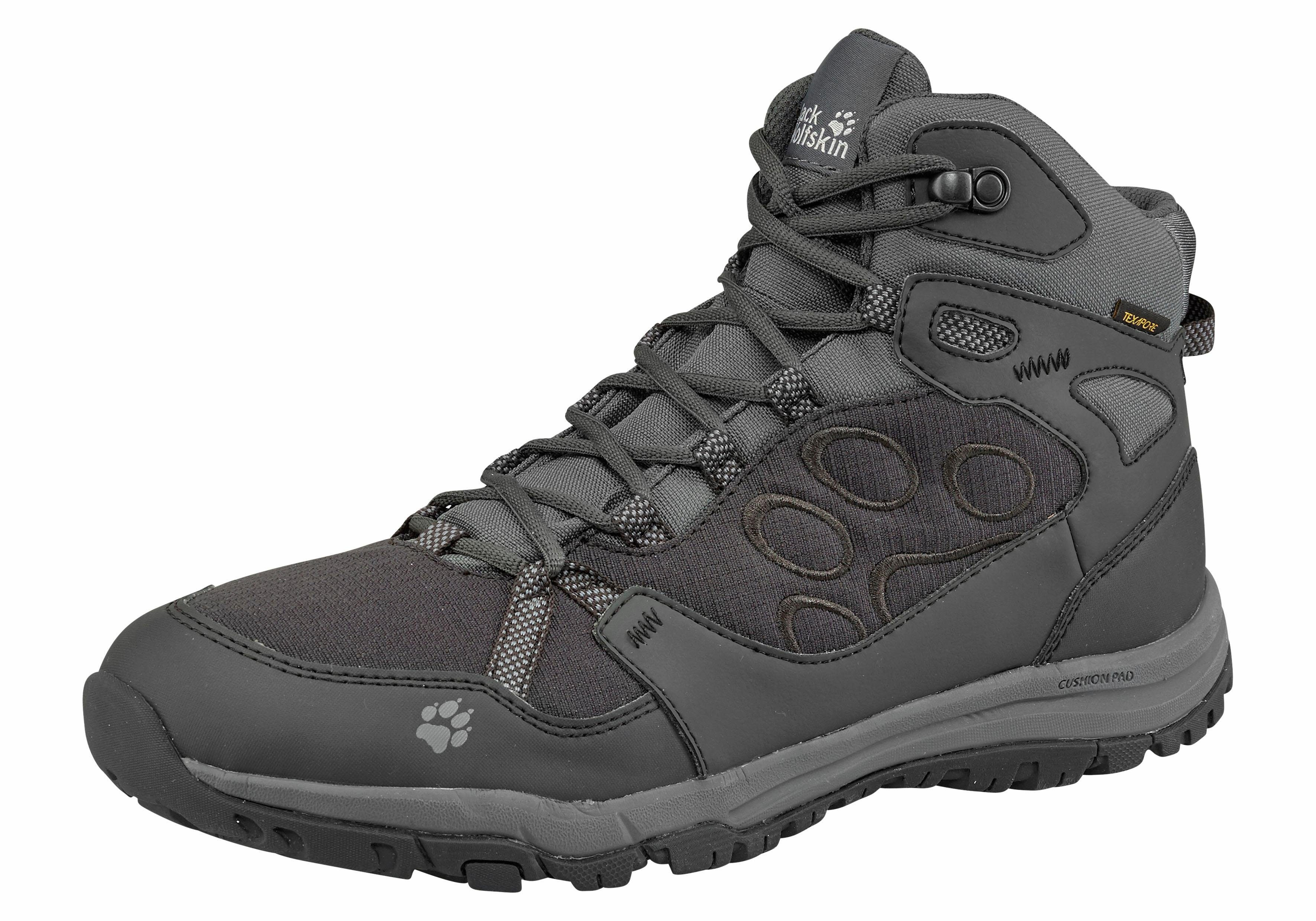 Jack Wolfskin Activer Chaussures Pour Les Hommes - Gris Foncé W4Ebgksc7g