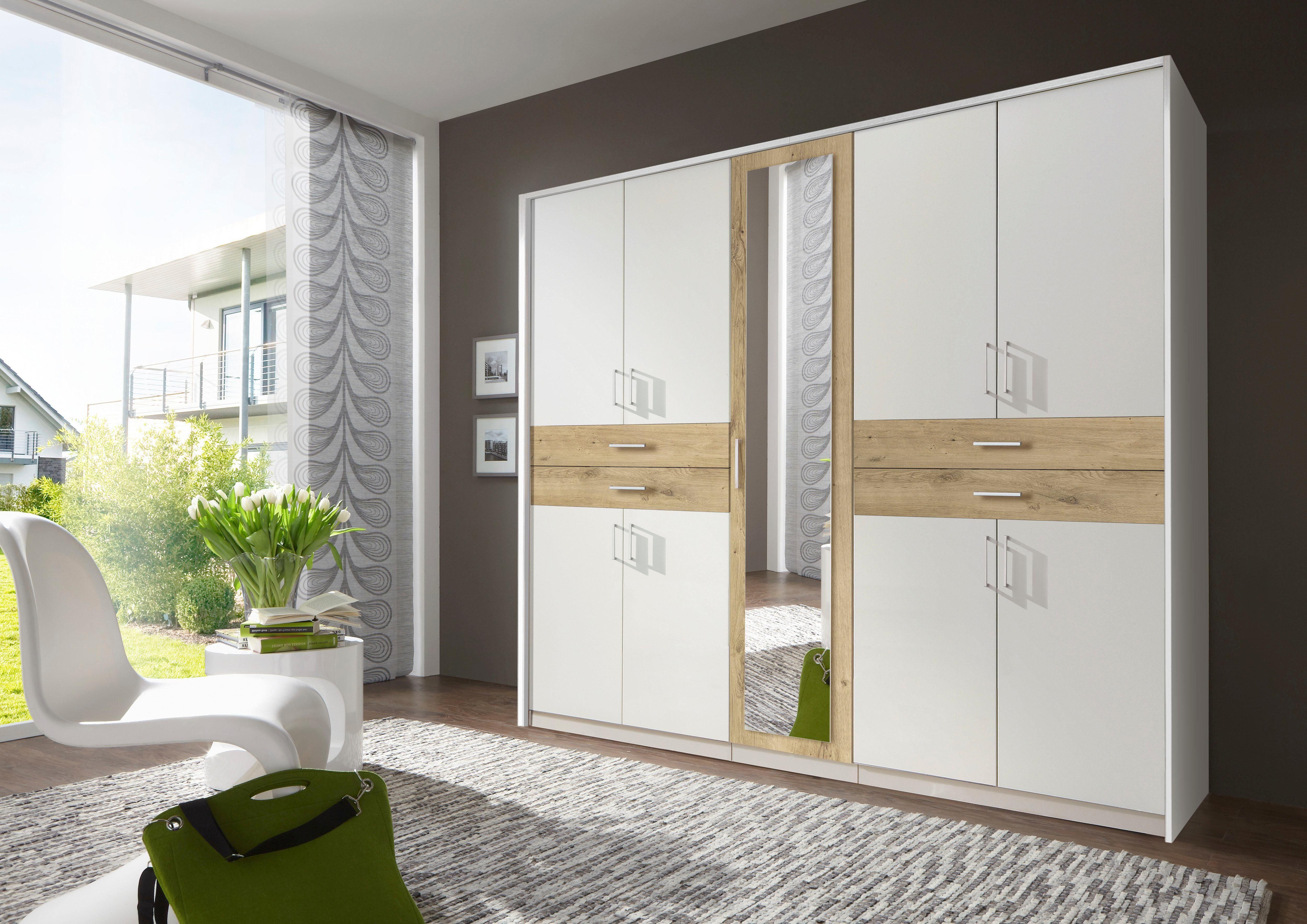 Wimex garderobekast met laden en spiegel bestel nu bij otto