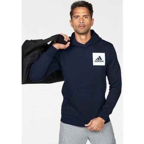 NU 15% KORTING: ADIDAS PERFORMANCE capuchonsweatshirt »ESSENTIALS CHEST LOGO PULLOVER HOOD FLEECE«