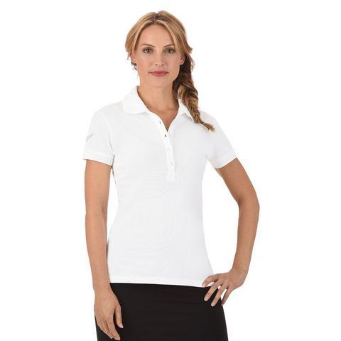 TRIGEMA Poloshirt met Swarovski® crystals
