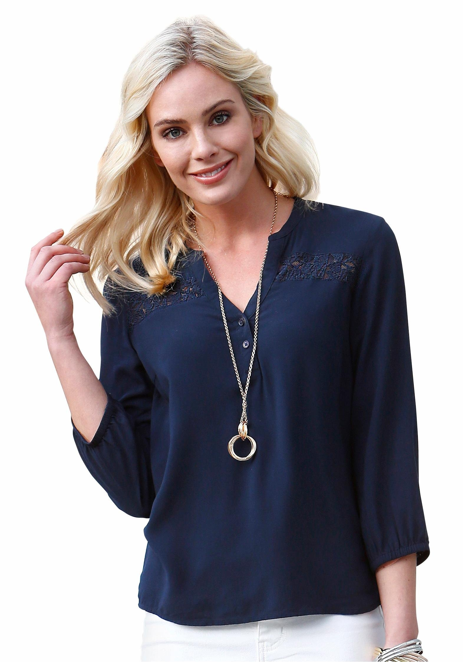 VERO MODA klassieke blouse »PRANCER« veilig op otto.nl kopen