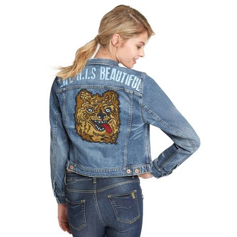 H.I.S Kortjasje »Denim Trucker Jacket«