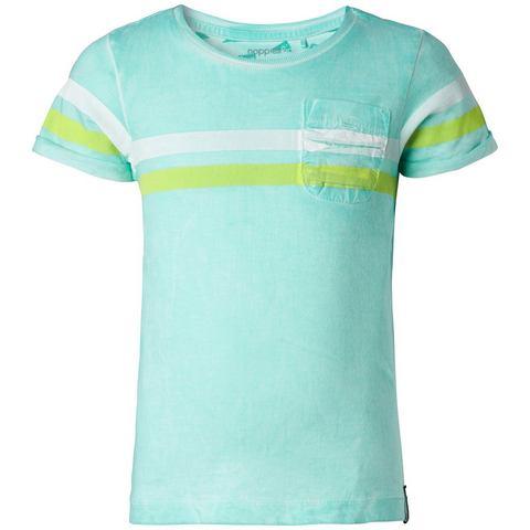 NU 15% KORTING: NOPPIES T-shirt »Fabens«