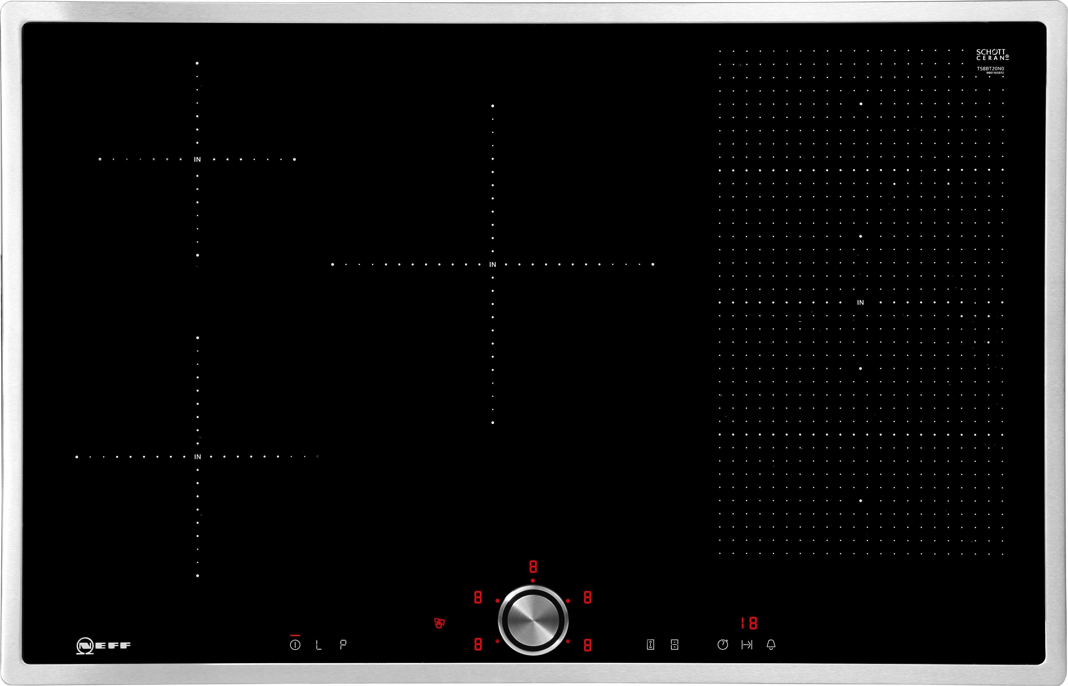 Neff Autarkes flex-inductiekookplaat met TwistPad® Flat bediening TBT5820N / T58BT20N0 bij OTTO online kopen