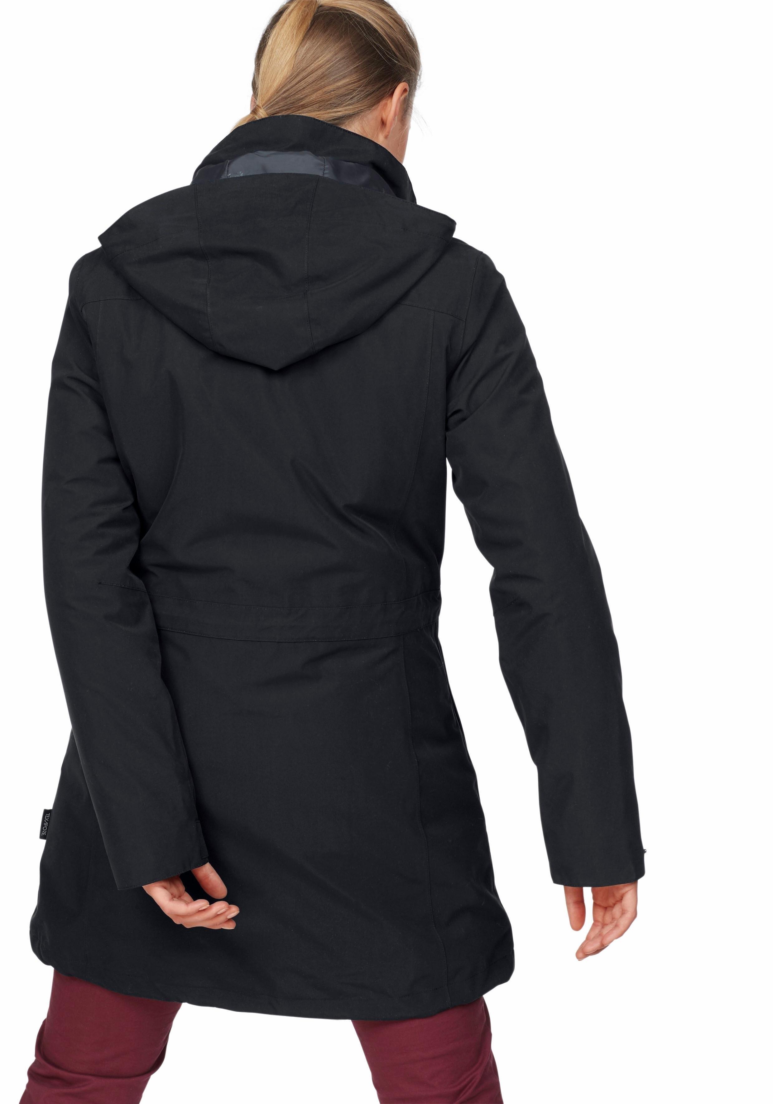 jack wolfskin 3 in 1 functionele jas ottawa coat set 2. Black Bedroom Furniture Sets. Home Design Ideas