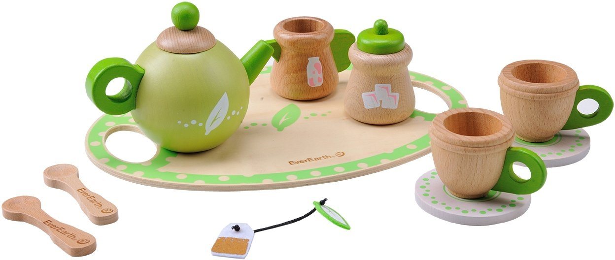 Everearth ® houten speelgoed, »Theeservies« - gratis ruilen op otto.nl