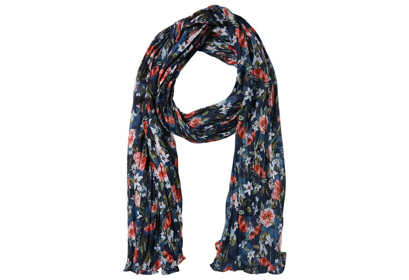 TOM TAILOR Sjaal »Sjaal met bloemenmotief«