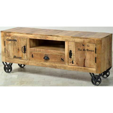 SIT TV-meubel Rustic, in factory-design, breedte 140 cm