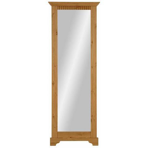 Home affaire spiegel Met slaapfunctie met bedkist zonder laadstation met frame van massief grenen