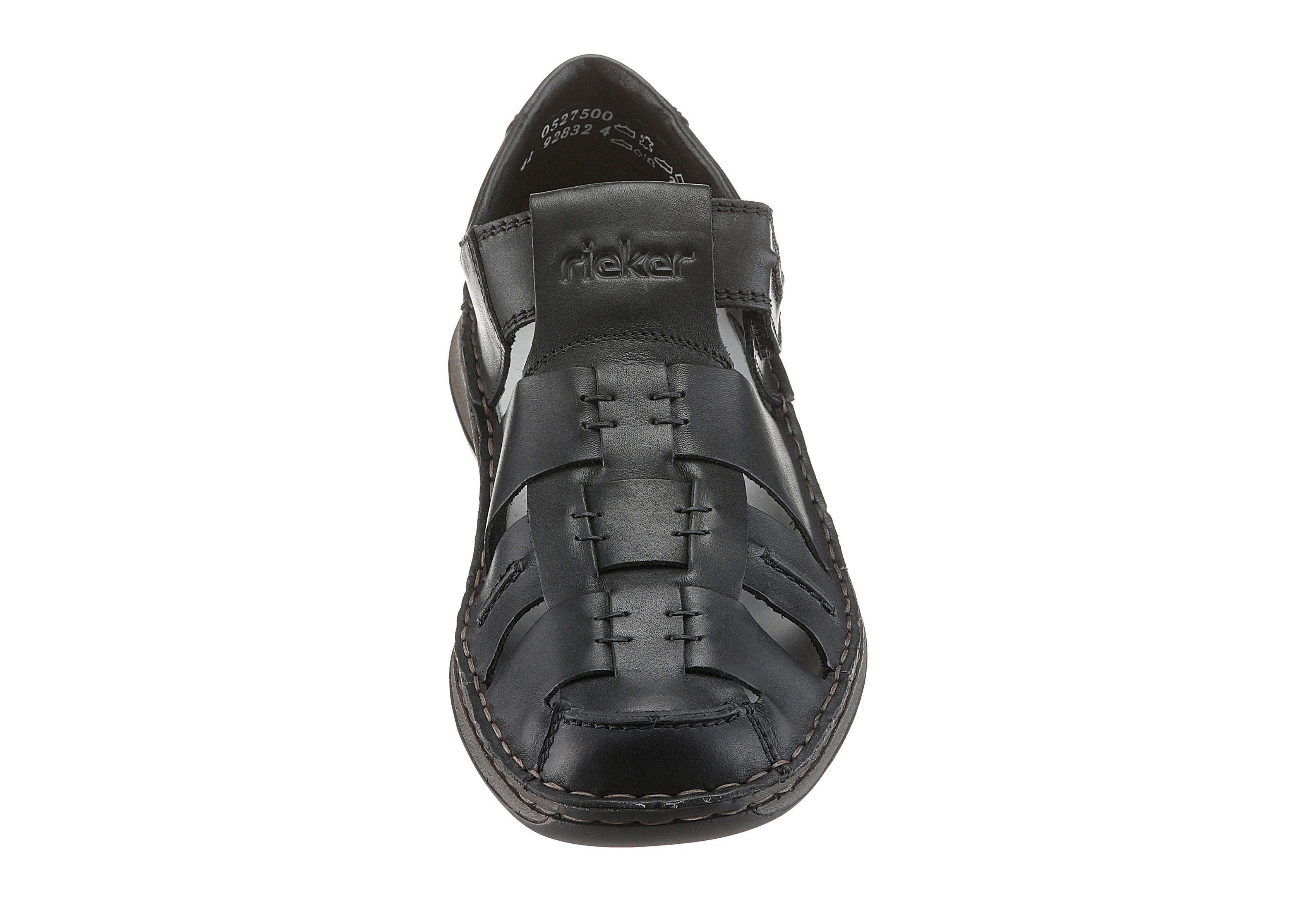 Rieker Velcro Chaussures Noir GpMyqJl