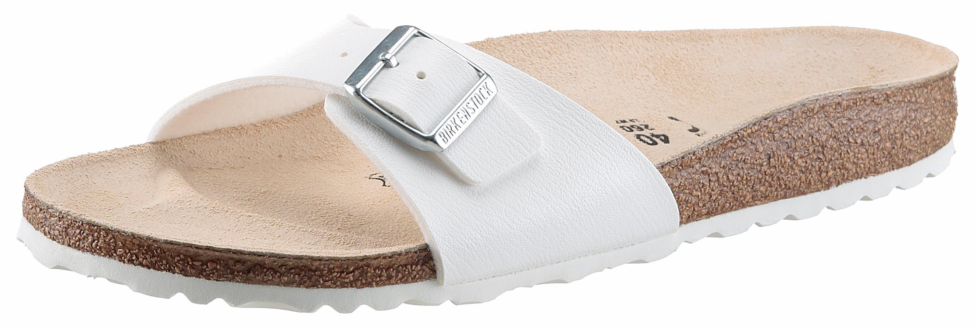 Birkenstock slippers Madrid smalle schoenwijdte, met ergonomisch gevormd voetbed online kopen op otto.nl
