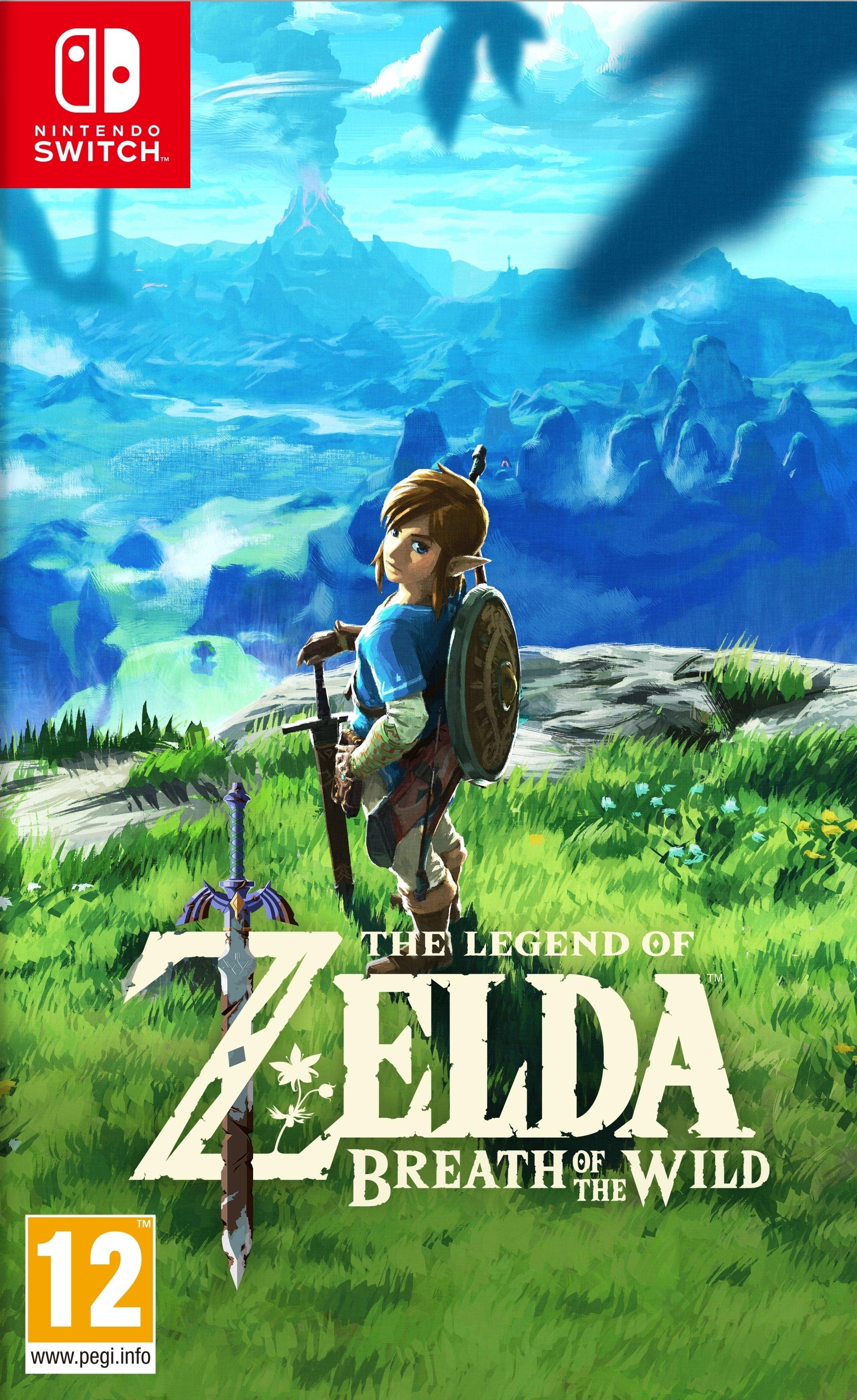 NINTENDO Switch, Legend of Zelda, Breath of the Wild - verschillende betaalmethodes