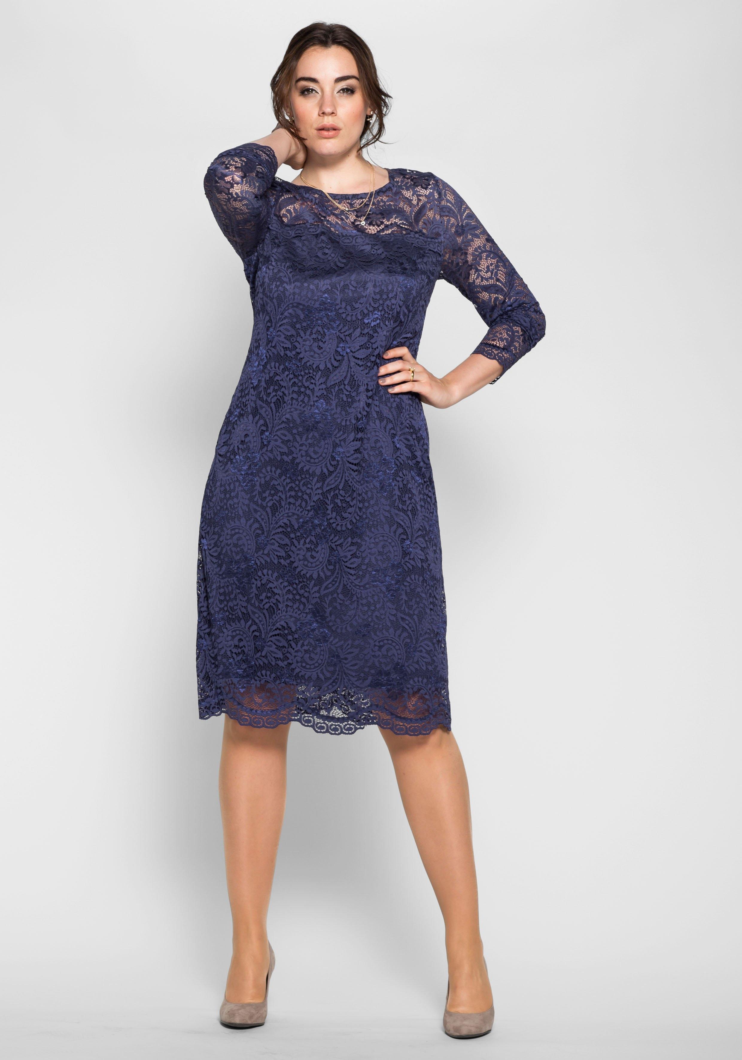 2a6266b8a Bekend Anna Scholz for sheego kanten jurk makkelijk besteld   OTTO #YU33