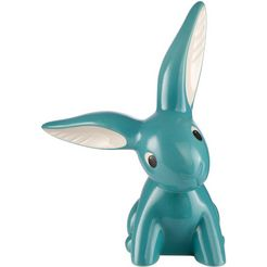 goebel verzamelfiguur »turquoise bunny« (1 stueck) blauw
