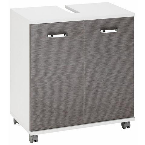 kast Java witte badkamer wastafelonderkast 14