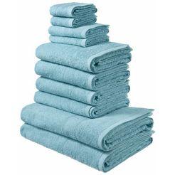 my home handdoekenset inga blauw