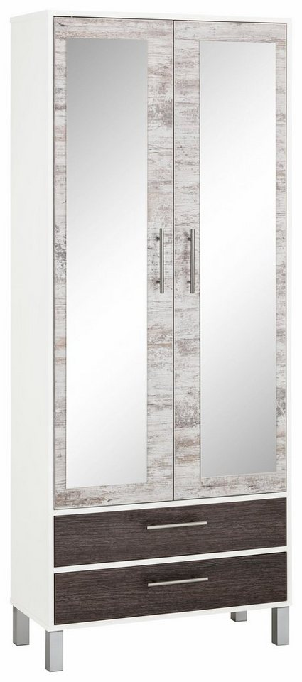 Garderobekast Simon met spiegel