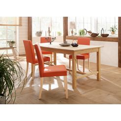 "home affaire stoel ""nina"" oranje"
