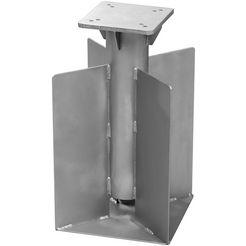 schneider parasols »universal«, staal, voor parasol zilver