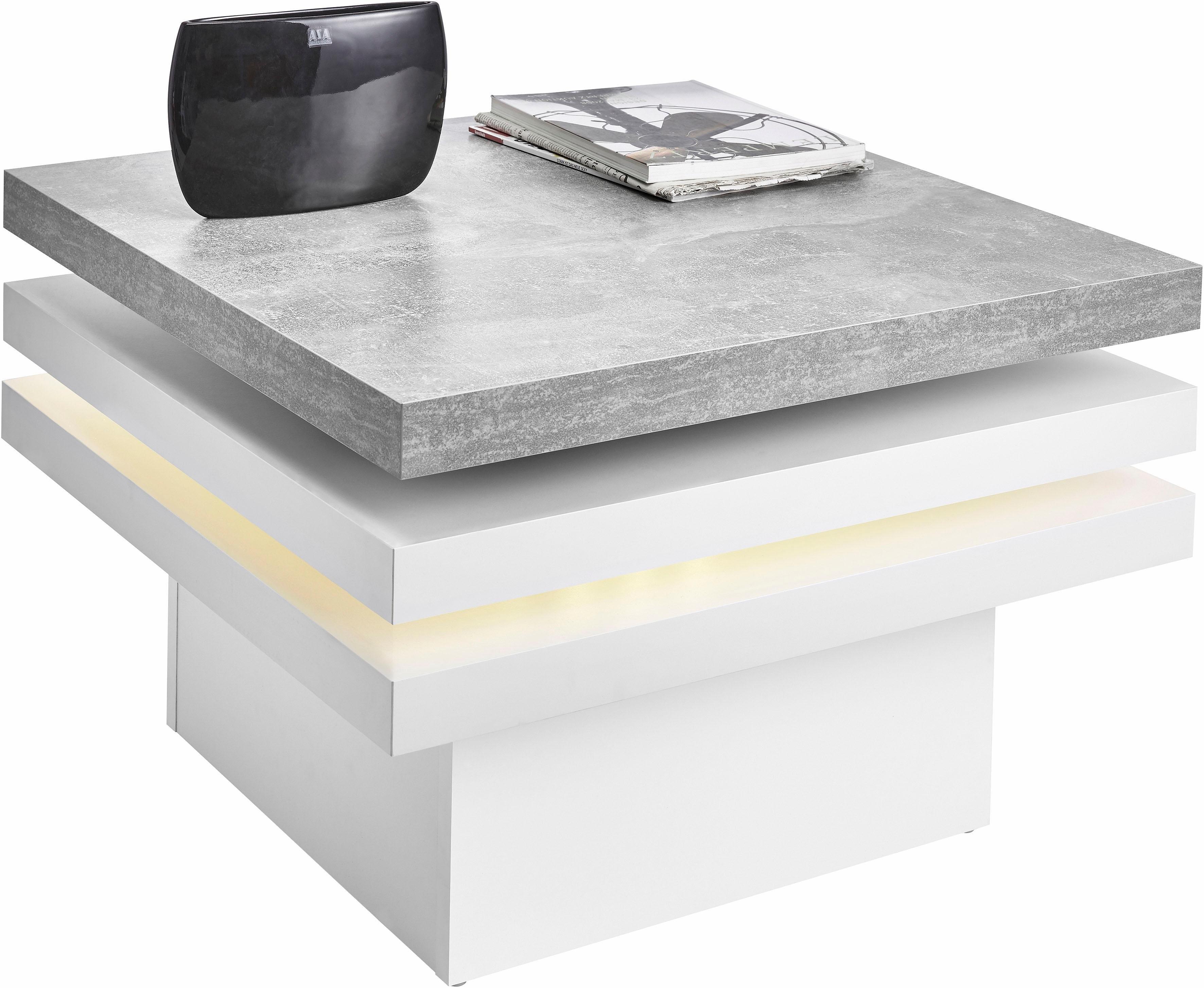 RAUM.ID Salontafel met LED-verlichting bij OTTO online kopen