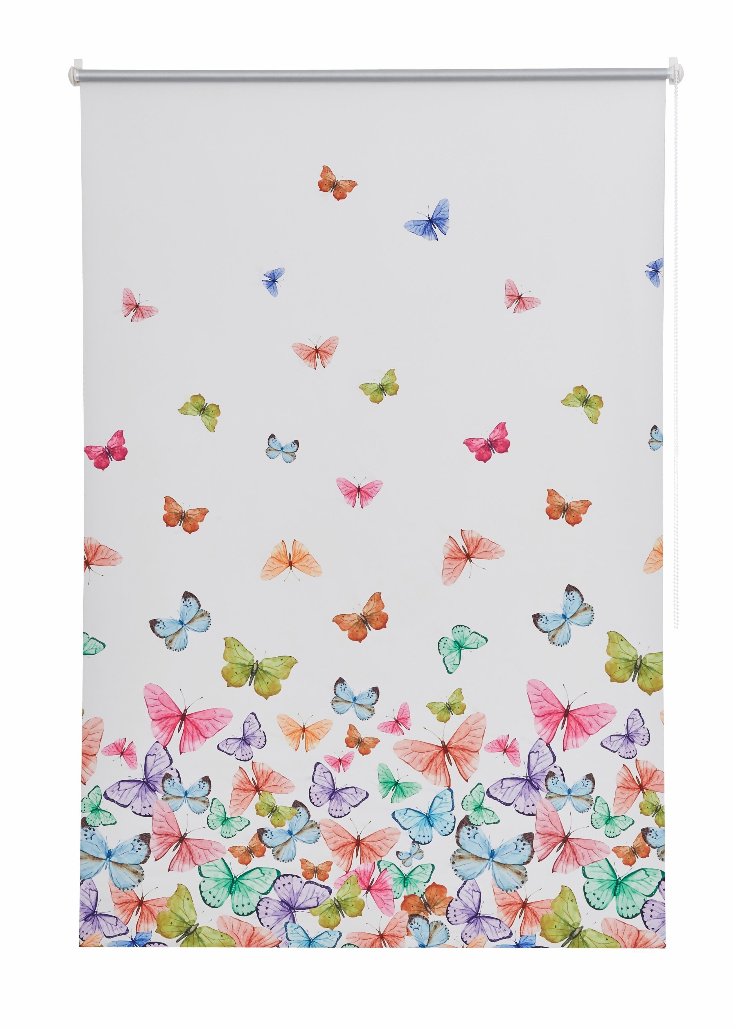 Home Affaire Rolgordijn met zijbediening,COLLECTION, »Butterfly«, verduisterend/energiebesparend - gratis ruilen op otto.nl