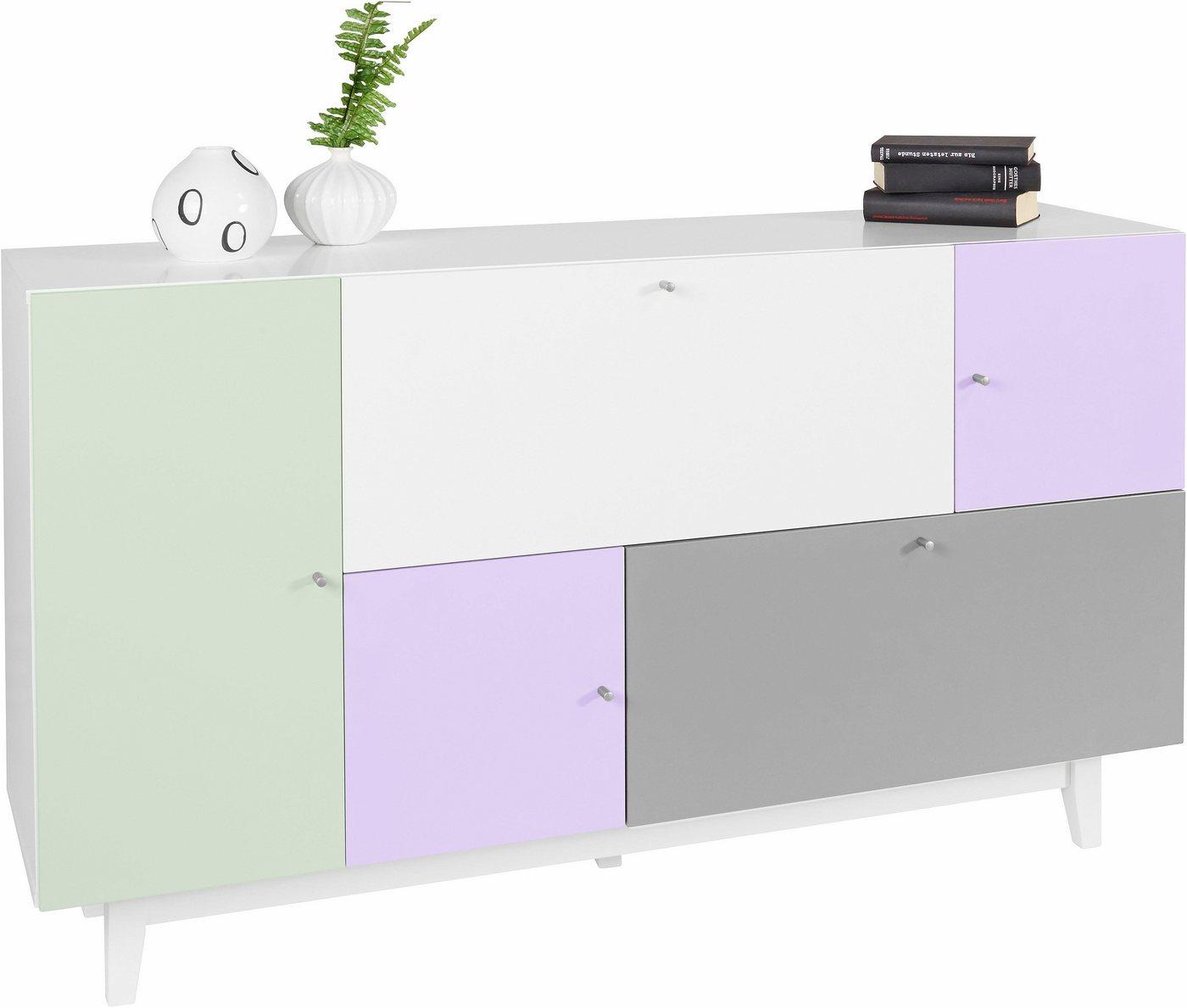 HOME AFFAIRE dressoir Malibu, breedte 150 cm