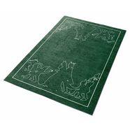 grimmliis kindervloerkleed »sprookje 3«, hoogte 2 mm, platweefsel groen