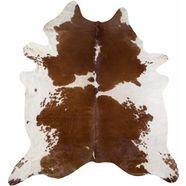 luxor living vachtvloerkleed runderhuid 5 echte koeienhuid, natuurproduct - daarom is elke koeienhuid uniek, woonkamer bruin
