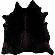 luxor living vachtvloerkleed runderhuid 1 echte koeienhuid, natuurproduct - daarom is elke koeienhuid uniek, woonkamer zwart