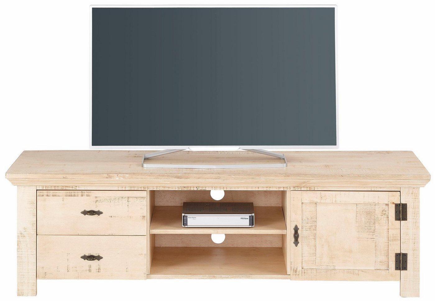 HOME AFFAIRE TV-meubel Molly van massief grenen, 150 cm breed