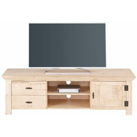 HOME AFFAIRE TV-meubel Molly van massief grenen, 150 cm breed