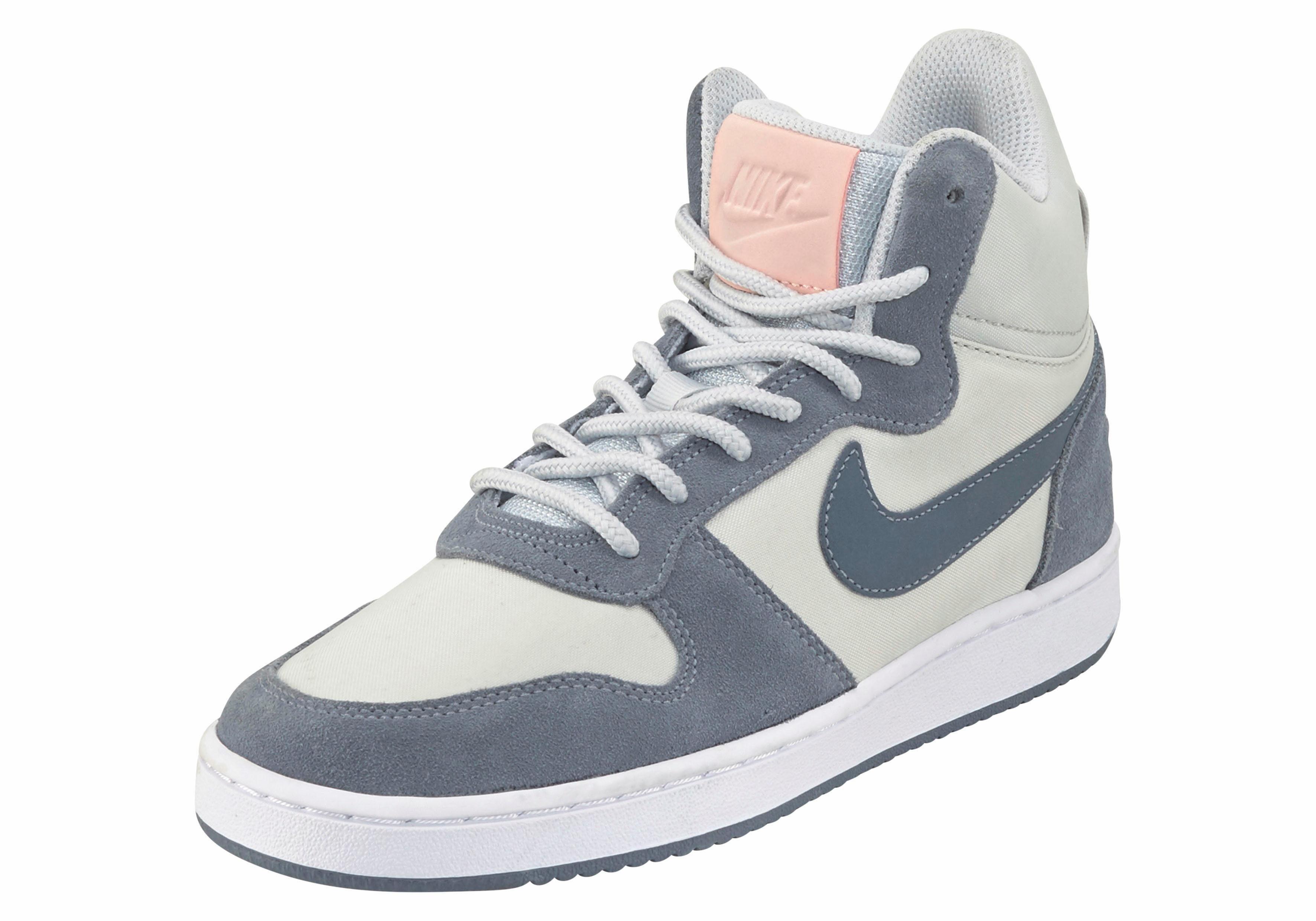 Gris Nike Baskets Quartier Cour Hommes Mi Prem 2Dkvzoxh