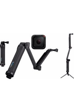 actioncam GOPRO HERO5 Session 3-Way Set 4K (Ultra HD), GPS, WLAN, Bluetooth