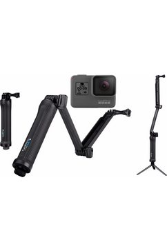 actioncam GOPRO HERO5 Black 3-Way Set 4K (Ultra HD), WLAN, Bluetooth