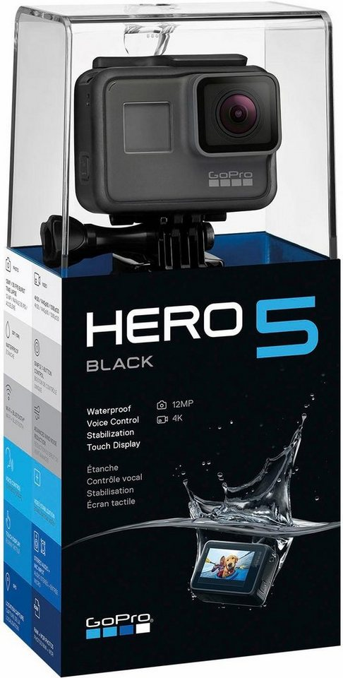 GOPRO HERO5 black 4K (Ultra HD) actioncam GPS WLAN Bluetooth