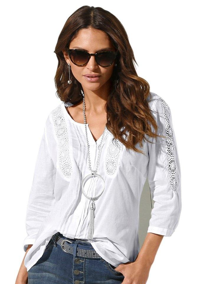 Op zoek naar een Classic Inspirationen blouse van puur katoen? Koop online bij OTTO