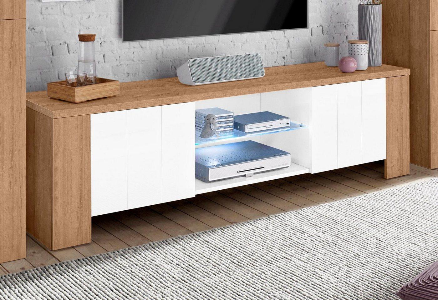 Tecnos TV-meubel, breedte 180 cm