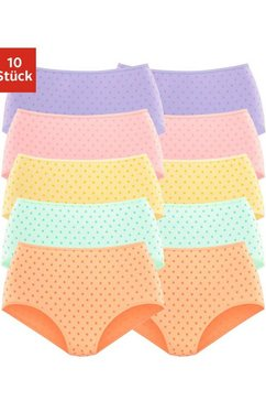 go in tailleslip met mooie stippeltjesprint (10 stuks) multicolor